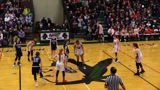 Midlakes vs. Dansville (Video Replay) .::. Section V Girls Basketball Class B Play-In  on 3/5/19