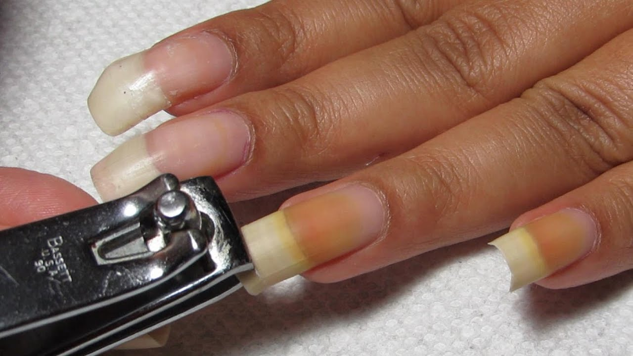 FAQ: Natural Nails - Curling, Cutting & Filing - YouTube