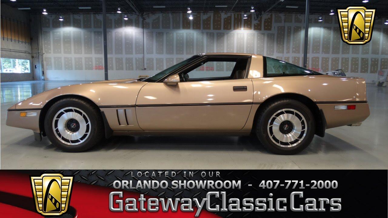 1980 Corvette For Sale >> 1985 Chevrolet Corvette Gateway Classic Cars Orlando #226 - YouTube