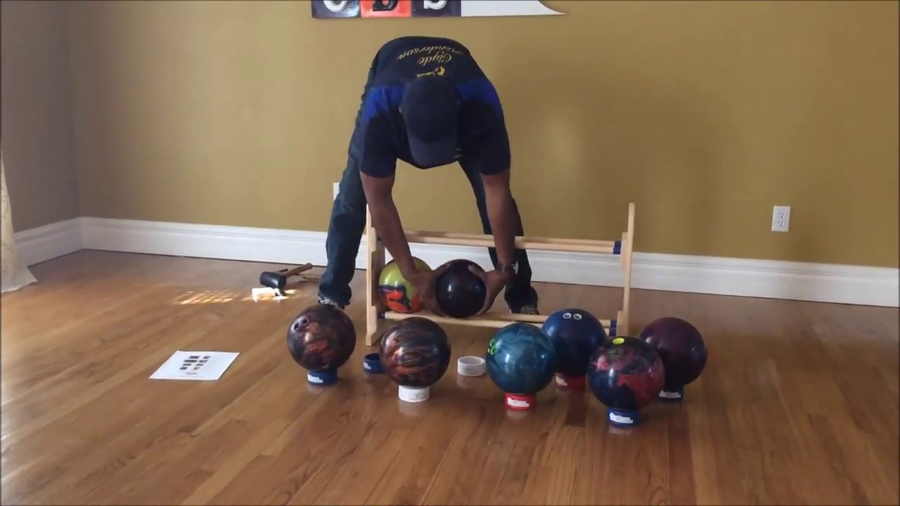 8 Ball Cbs Personal Bowling Rack Embly Demo