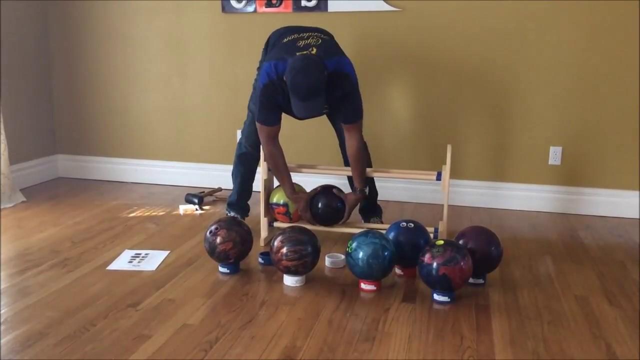 8 ball cbs personal bowling ball rack