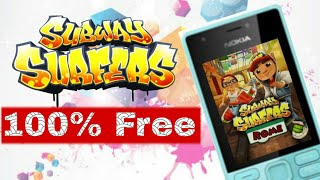 Installing Subway Surfers 100% Free for Nokia 216 (Nokia Phones) in Hindi