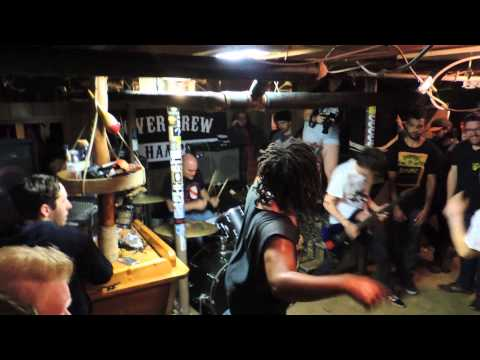 Urban Waste-Live @ Basement Show-Dover, NH 10/5/14
