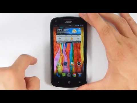 Acer Liquid E2 Duo - appearance - part 1