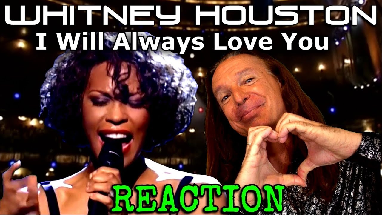 Whitney Houston Reaction - I Will Always Love You - LIVE - Vocal Coach Ken Tamplin