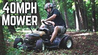 Rat Rod Racing Lawn Mower Returns!
