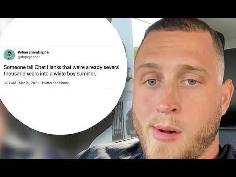Tom Hanks' son Chet Hanks is lambasted on social media after ...