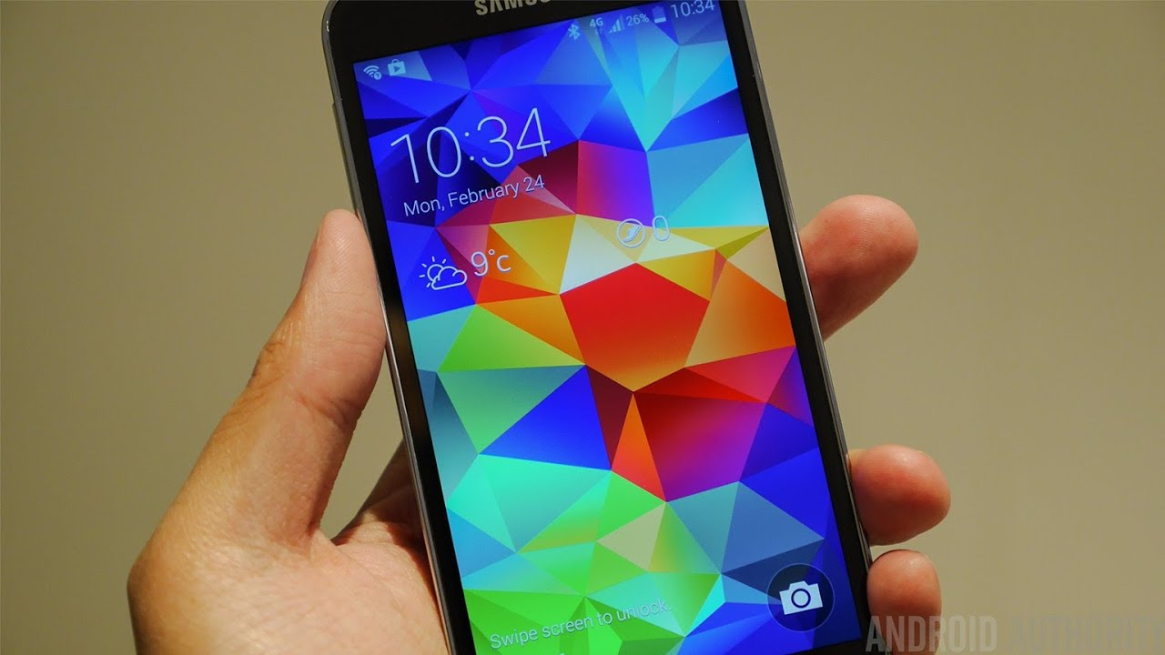 Samsung Galaxy S5 Hands On & First Look!