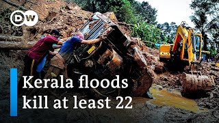 Deadly floods, landslides sweep southern Indian state of Kerala   DW News