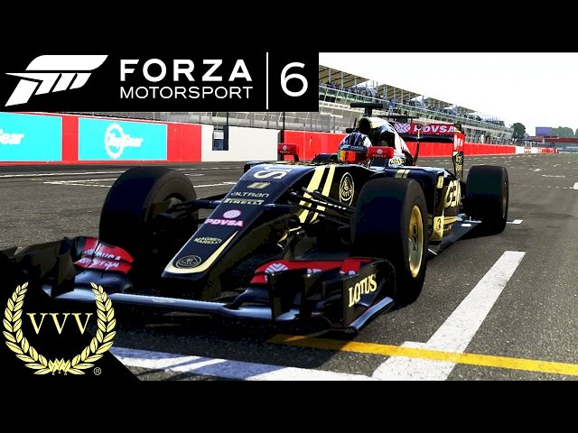 Forza 6 Gameplay F1 Monza