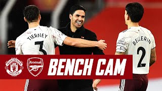 BENCH CAM | Man Utd vs Arsenal (0-1) | Premier League