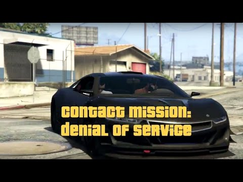 Contact Mission: Denial Of Service - GTA Online - Rockstar Editor