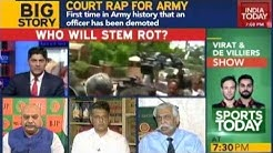 Lucknow Bench of The Armed Forces Tribunal Orders Demotion