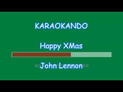 Karaoke Natale - Happy Xmas ( War is Over ) - John Lennon ( Lyrics )