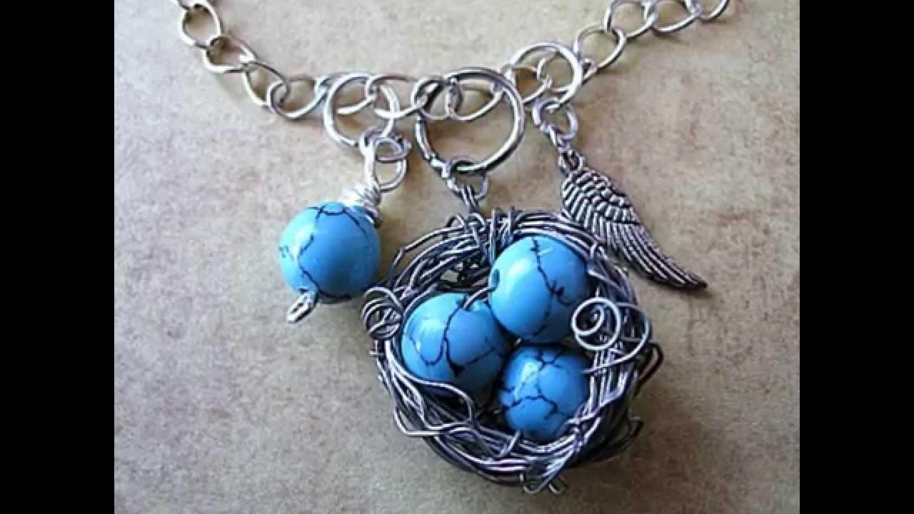 Bird nest pendant tutorial by jamie estelle jewelry youtube bird nest pendant tutorial by jamie estelle jewelry aloadofball Choice Image