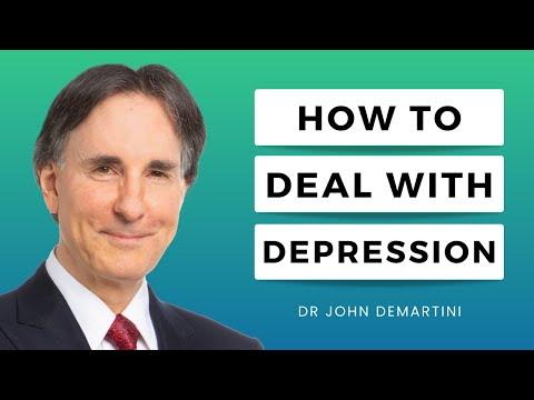 Suffering from Depression? Demartini It!