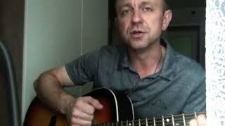 Белый и пушистый...  Песня под гитару.