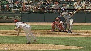 Vitiello blasts a home run off Burkett