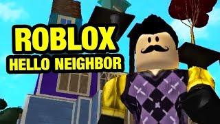 Hello Fear Act 1 | Roblox Hello Neighbor