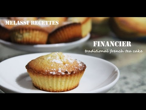 Melassi Recettes // FINANCIERS - French almond cakes: very easy to make!!!