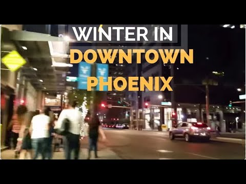 Winter & Family Things To Do in Downtown Phoenix | Living in Arizona