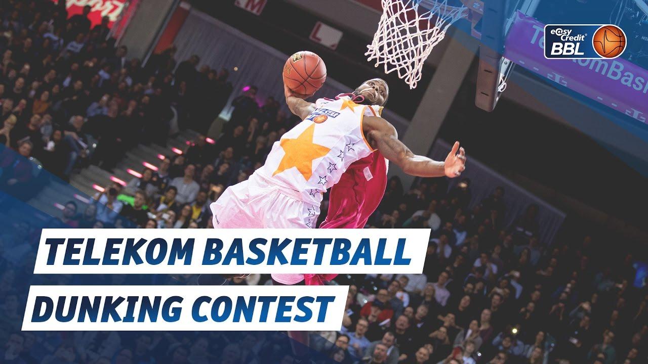 die besten dunks des telekom basketball dunking contests 2017 youtube