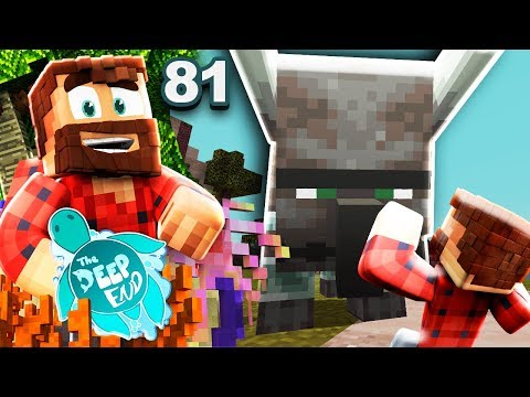 """""""I JUST WANT A PILLAGER BEAST""""   The Deep End Minecraft SMP #81"""
