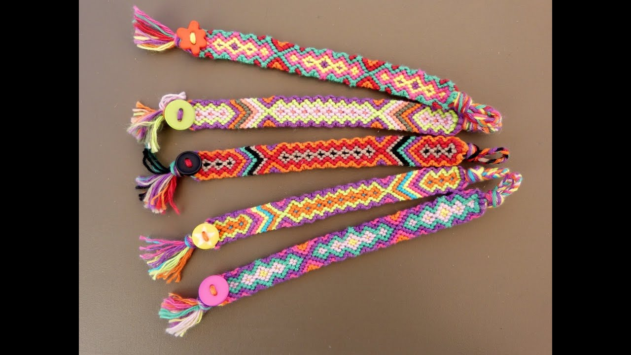 5 Easy Rainbow Loom Bracelet Designs Without A Rubber Band Bracelets