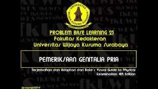 Pemeriksaan Genitalia Pria  (Male Genitalia Examination) FK UWKS