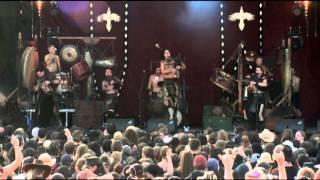 """Corvus Corax - """"Saltarello"""" live @ Summerbreeze 2011"""