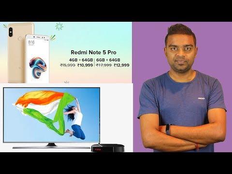 Redmi Note 5 Pro ₹9990, Flipkart & Amazon HandPicked Deals, Tata Sky HD Channel, Tech Prime #223 - 동영상