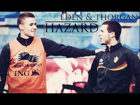 Eden Hazard & Thorgan Hazard - The Golden Brothers Of Chelsea - Goals & Skills | ᴴᴰ