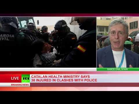 MEP Stelios Kouloglou comments on havoc in Barcelona