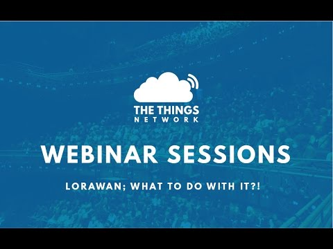 LoRaWAN: What do with it