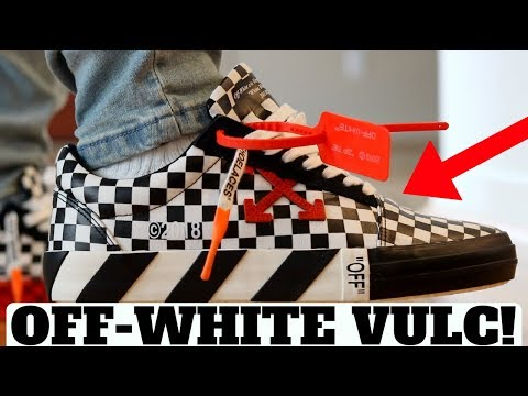 88ba6ba5 OFF-WHITE BLACK & WHITE CHECK VULC LOW REVIEW! (Compared to Vans Old Skool)  - YouTube
