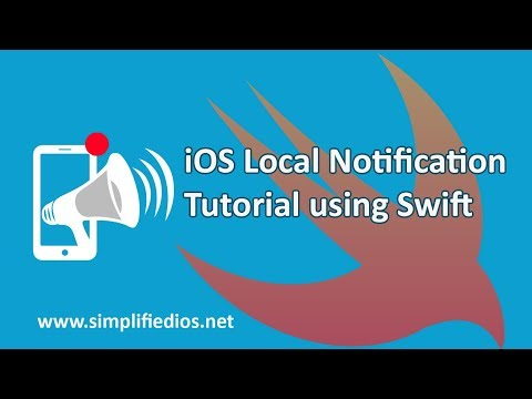 iOS Local Notification Tutorial using Swift - When App is in Foreground