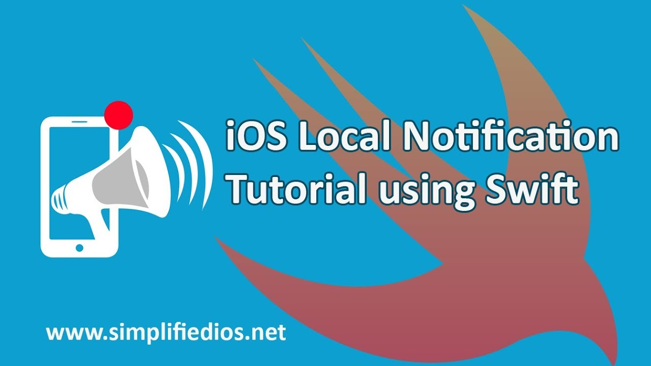 iOS Local Notification Tutorial using Swift - When App is in