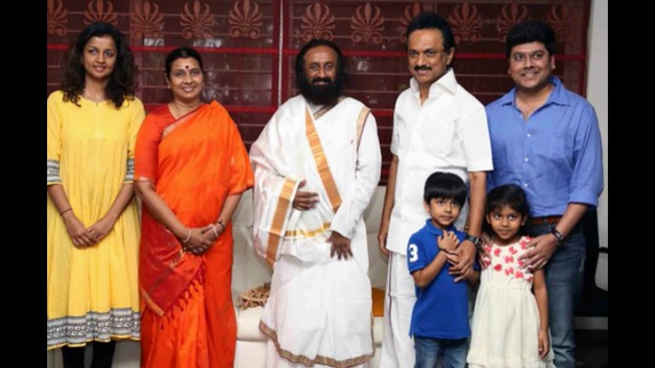M K Stalin Family Daughter And Son Grand Children