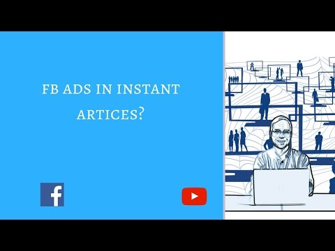 Facebook ads in instant articles