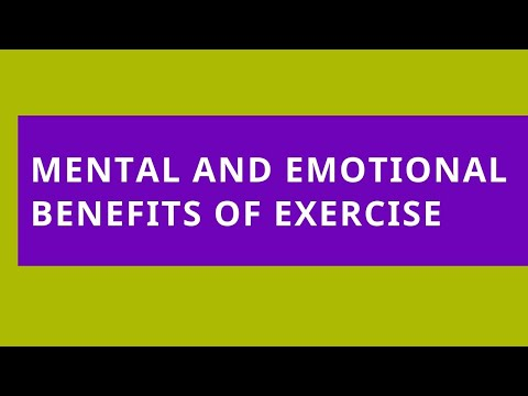 Audio Read: Mental and Emotional Benefits of Exercise