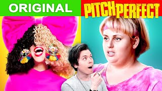Popular Songs vs Pitch Perfect Versions