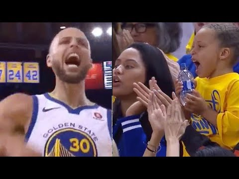 Steph Curry SCOLDED by HIS MOM for Dropping F Bombs During Game