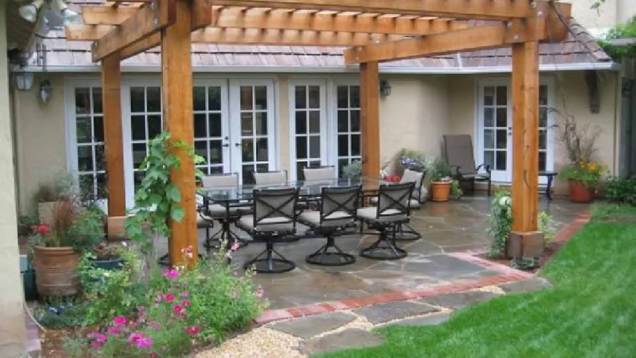 Ideas y trucos para tu hogar patios y p rgolas youtube for Ideas para patios