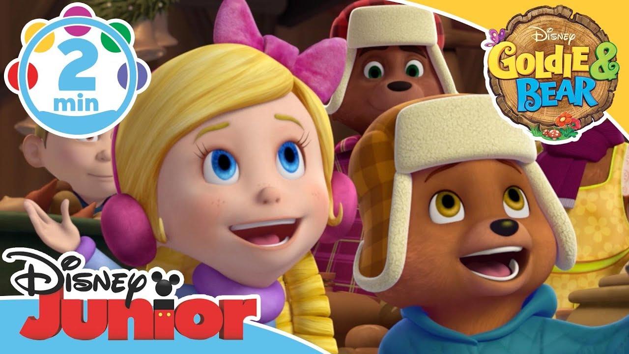 Goldie Bear The Winterchime Day Song Disney Junior Uk Youtube
