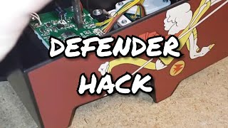 Is #9 Galaga or Defender? Permanently Hack a Joust to Play Defender