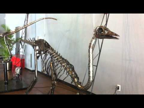 Struthiomimus at Dino Kinetics