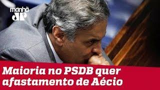 Maioria no PSDB quer afastamento de Aécio Neves