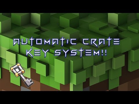 Minecraft Bedrock Edition Factions Automatic Crate Key System