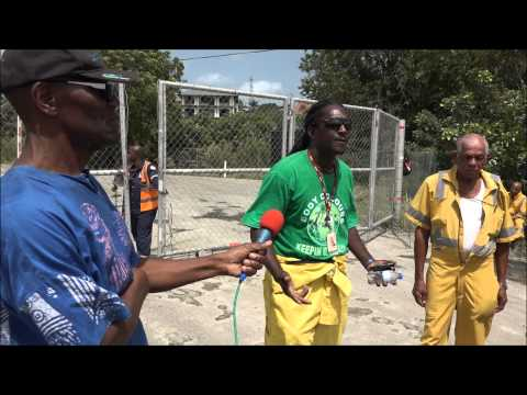 OAS Workers Down Tools against hiring of expats - May 5, 2015. Trinidad & Tobago