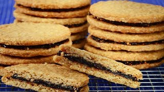 Fig Oatmeal Cookies Recipe Demonstration - Joyofbaking.com